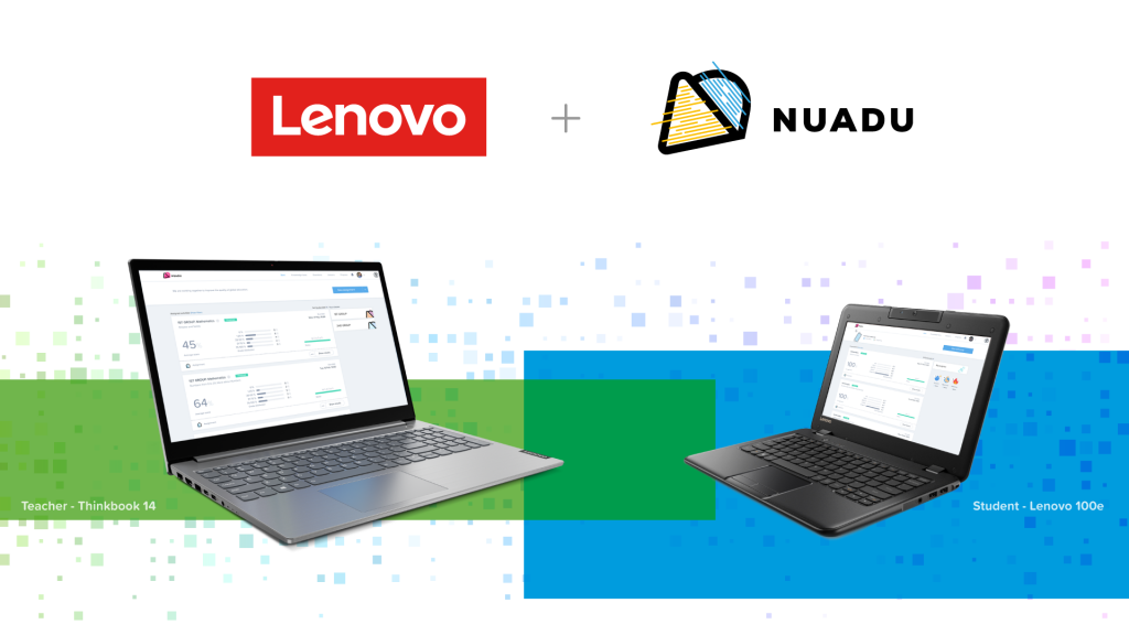 lenovo laptops and nuadu learning platform indonesia
