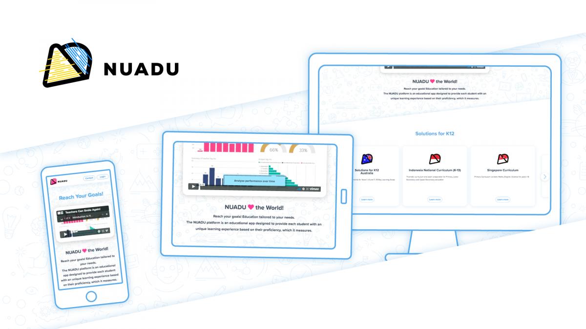 NUADU new webiste
